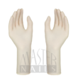 Gumikesztyű LATEX PM 6,0 Santex Anatomic