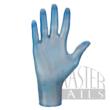 Vinil kesztyű kék