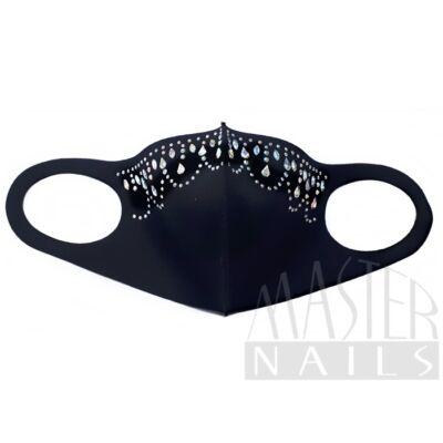 Maszk / Fashion mask / Strasszos 9.