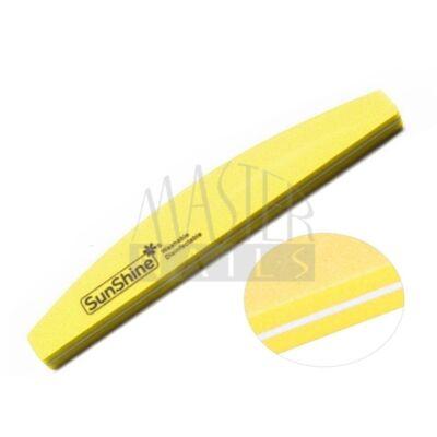 Polírozó homokolt / sárga íves 100/180