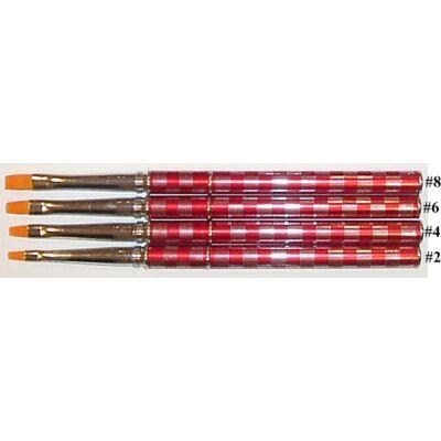 """Ecset LUXUS / zselé piros kockás """"L6"""""""