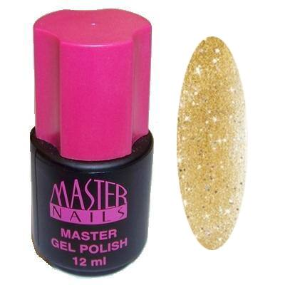 MN 12 ml Gel Polish: 142 - Arany Glitter