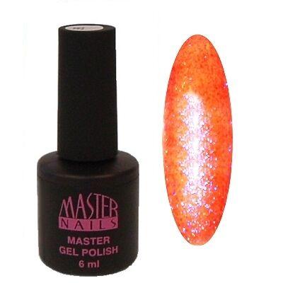 MN 6 ml Gel Polish: 038 - Gyémánt Neon Pink (Peach)