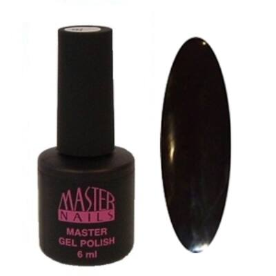 MN 6 ml Gel Polish: 047 - Fekete