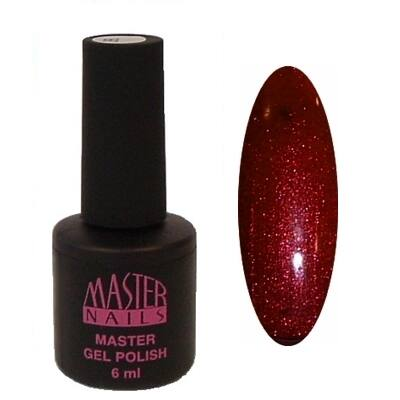 MN 6 ml Gel Polish: 115 - Szatén Burgundi