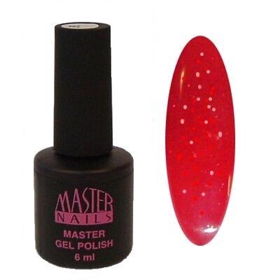 MN 6 ml Gel Polish: 166 - Sparkling Red