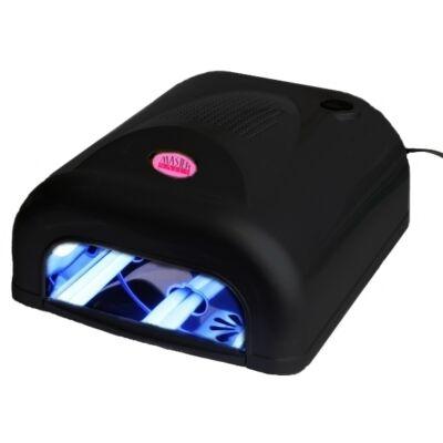 Műkörmös UV Lámpa 4x9W Alagút Fekete / MUV-380