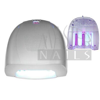 Műkörmös UV/LED Lámpa 54W (36w UV + 18w LED) 4076/S Ezüst   /  Bemutató darab, szépséghibás.