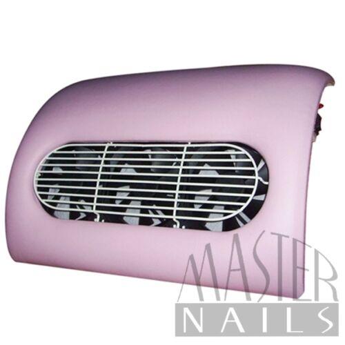 Porelszívós kéztámasz 3 ventillátoros pink