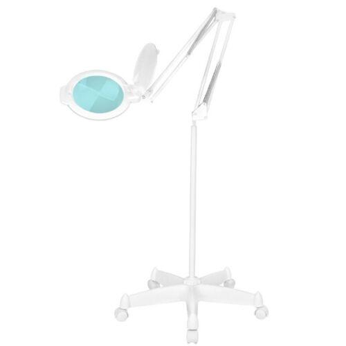 Nagyítós Lámpa Álló / Görgőlábas LED 8013