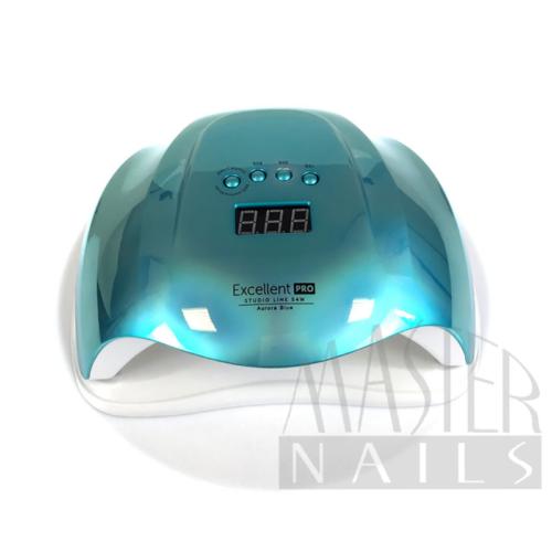 Műkörmös UV/LED 54W Szenzoros Digitális Lámpa Aurora BLUE