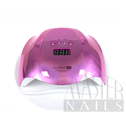 Műkörmös UV/LED 54W Szenzoros Digitális Lámpa Aurora PINK