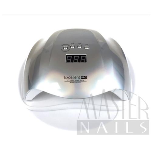 Műkörmös UV/LED 54W Szenzoros Digitális Lámpa Aurora SILVER