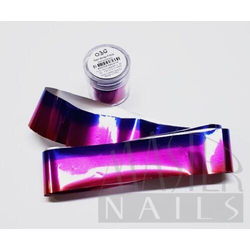 Körömdísz / Nail Wrap Fólia 036