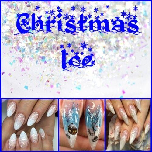 Körömdísz Christmas ICE