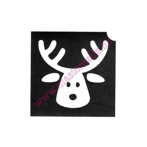 Csillámtetoválás sablon /MN-93/ Rudolf