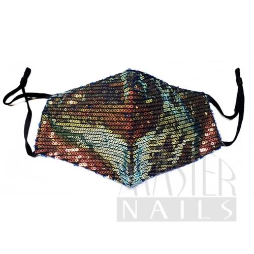 Maszk / Fashion mask / Flitteres 1.