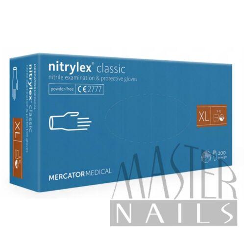 Gumikesztyű / Nitrylex Classic Kék XL-es méret 200 db-os