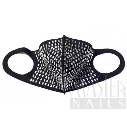Maszk / Fashion mask / Strasszos 1.