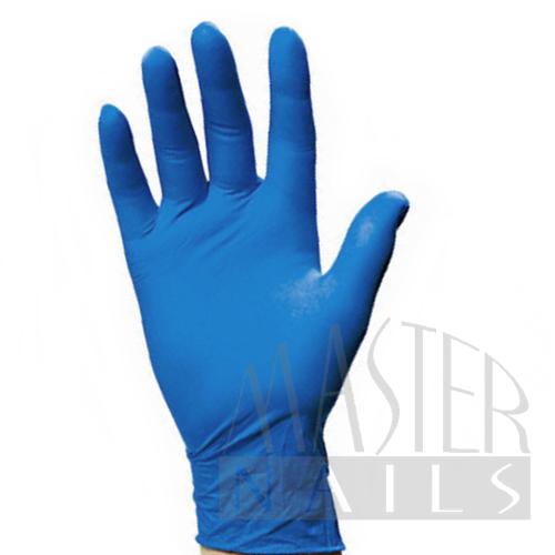 Gumikesztyű / Kék nitril L-es méret 1 db.
