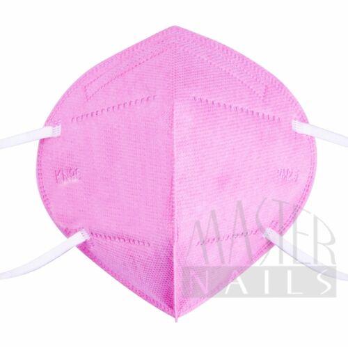 Maszk KN95 Szelep nélkül Rózsaszín