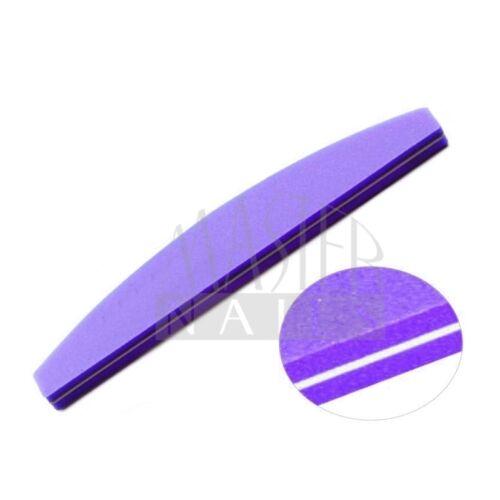 Polírozó homokolt / lila íves 100/180