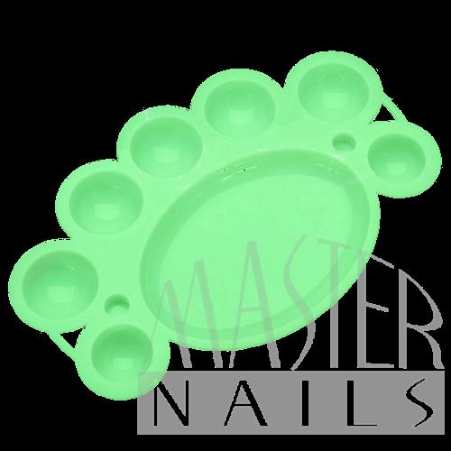 Akril keverő paletta élénk zöld
