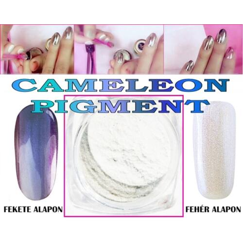 Körömdísz / Cameleon Pigment / 01.