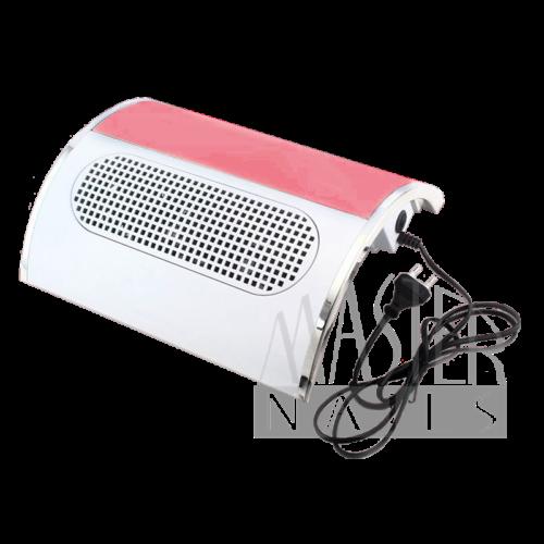 Porelszívós kéztámasz NEW 3 ventilátoros / FEHÉR - Pink betéttel