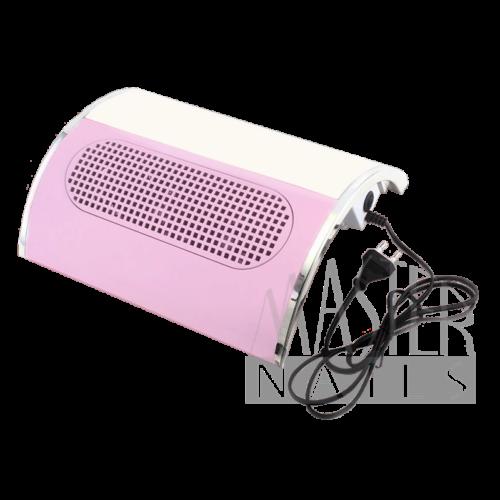 Porelszívós kéztámasz NEW 3 ventilátoros / PINK - Fehér betéttel