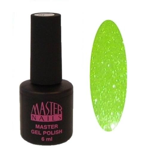 MN 6 ml Gel Polish: 036 - Gyémánt Kiwi