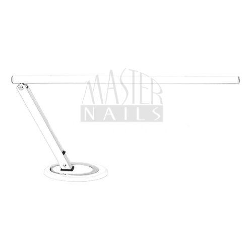 Műkörmös Asztali Lámpa / Fénycsöves / Talpas Fehér