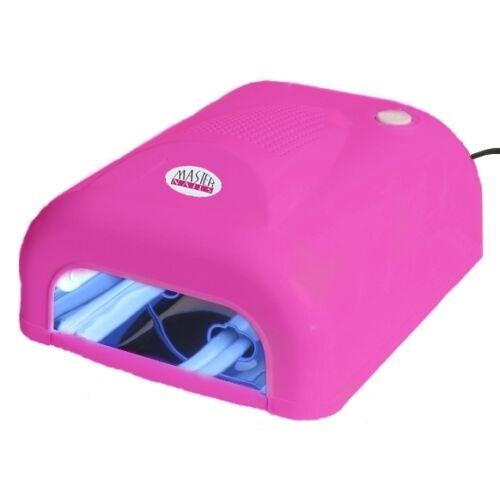 Műkörmös UV Lámpa 4x9W Alagút Pink / MUV-380