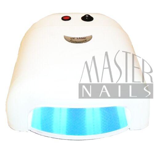 Műkörmös UV Lámpa 4x9W Fehér Express / Ventillátor nélkül