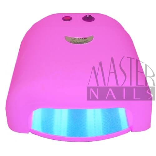 Műkörmös UV Lámpa 4x9W Pink Express / Ventillátor nélkül