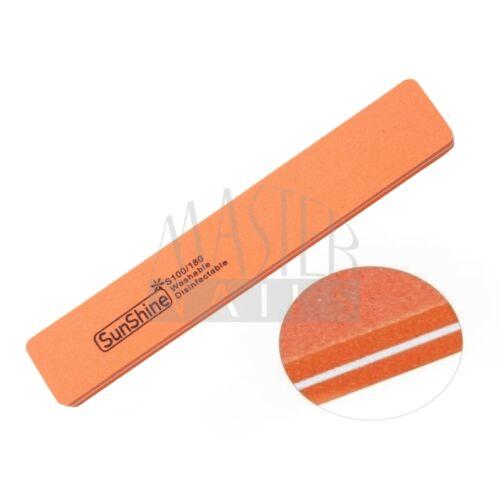 Polírozó homokolt / narancs széles 100/180
