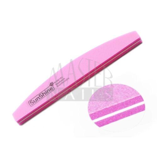 Polírozó homokolt / pink íves 100/180