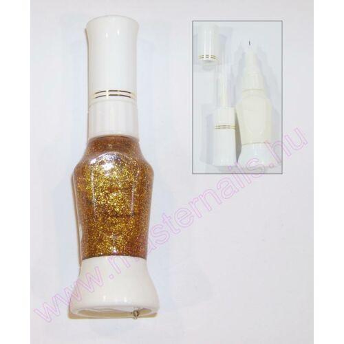 Pontozó lakk / arany glitter