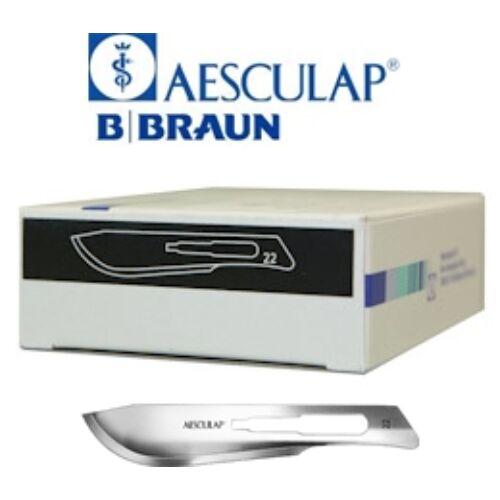 Szike eldobható steril B Braun 22-es méret 100db