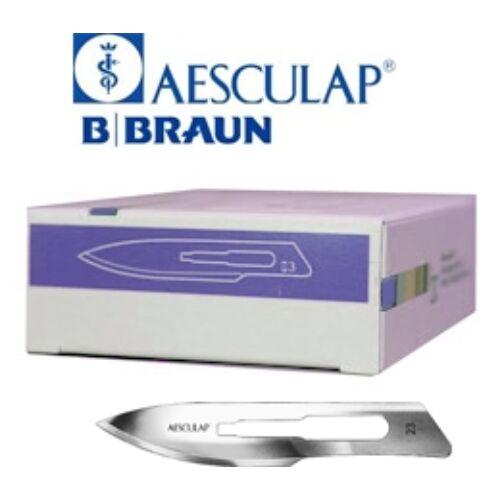 Szike eldobható steril B Braun 23-as méret 100db